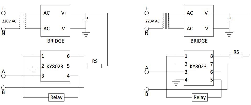 KY8023典型應用